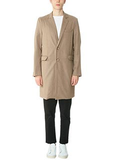 DonVich-Cappotto Chikmp in lana taupe