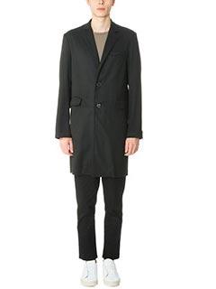 DonVich-Cappotto Chikmp in lana nera
