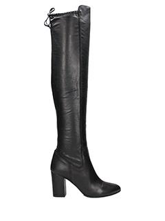 Carmens-Contessa black leather boots
