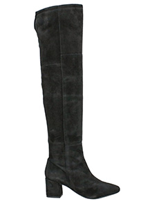 Carmens-Duke black suede boots