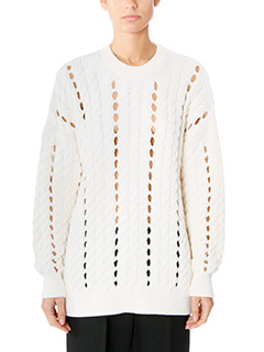 Alexander Wang-white wool knitwear