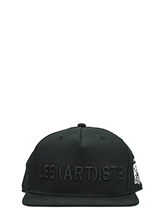 Les Artist-Cappello SnapBack in cotone nero