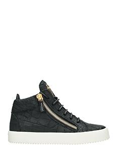 Giuseppe Zanotti-Sneakers mid in sombry nero
