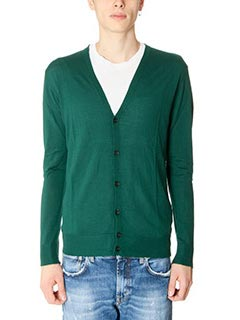 Department Five-Cardigan Raga  in lana verde