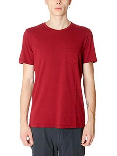 Department Five-T-Shirt Sprint in cotone bordeaux