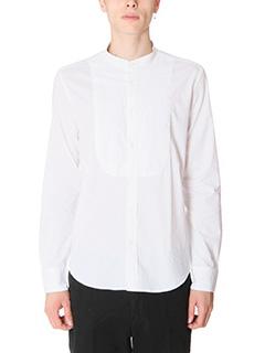 Department Five-Camicia in cotone bianco