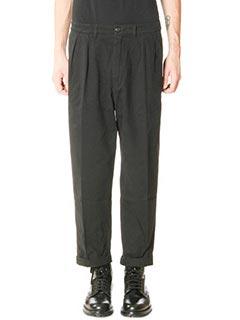 Department Five-Pantaloni Nat in cotone nero