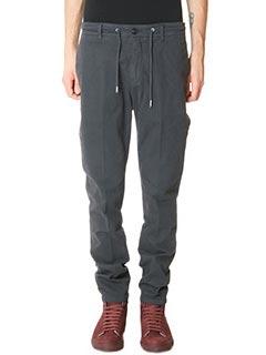 Department Five-Pantaloni Coux in cotone grigio