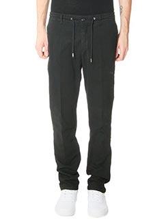 Department Five-Pantaloni Coux in cotone nero