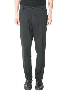 Department Five-Pantaloni George in cotone nero