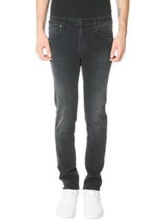 Department Five-Jeans Skeith in denim nero