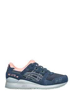 Asics-Asics Sneakers Gel-lite V in pelle scamosciata blu