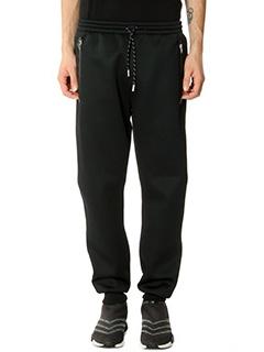 Adidas-Pantaloni in cotone nero