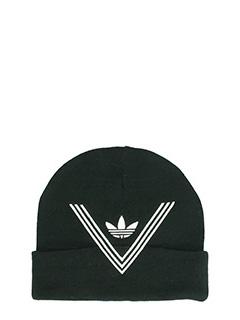 Adidas-Cappello in lana nera