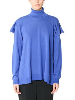 Maison Margiela-blue wool knitwear