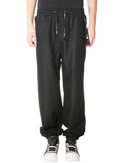 D.Gnak-Pantalone Lounge Pant in lana nera