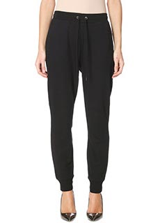 T by Alexander Wang-Pantalone Soft Sweat Pant in cotone nero