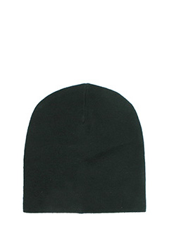 T by Alexander Wang-Cappello Beannie in lana nera