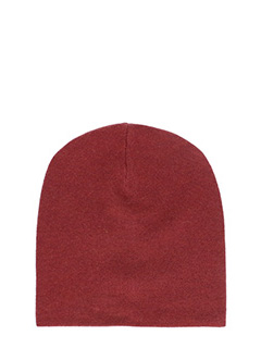 T by Alexander Wang-Cappello Beannie in lana bordeaux