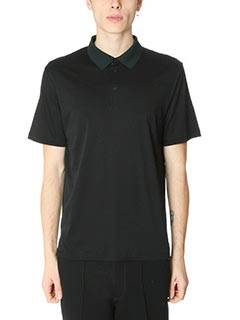 T by Alexander Wang-Polo Mercer Cotton in cotone nero