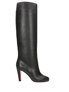 Christian Louboutin-Doriffa 85 black leather boots
