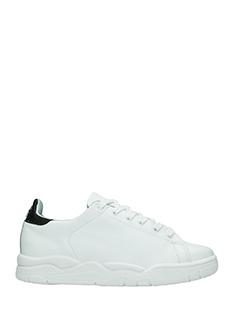 Chiara Ferragni-Sneakers Classic in pelle bianca nera