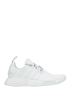 Adidas-Sneakers Nmd R1  in tessuto bianco