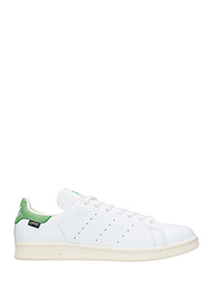 Adidas-Sneakers Stan Smith Gtx  in pelle bianca verde