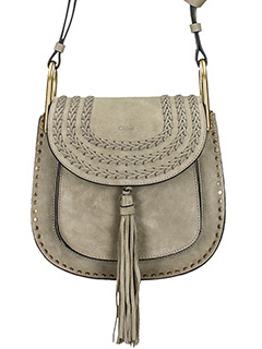 Chloé-Borsa Hudson in camoscio motty grey