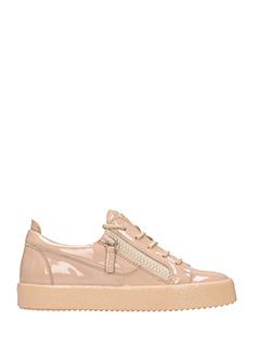 Giuseppe Zanotti-Sneakers Nicki in vernice rosa