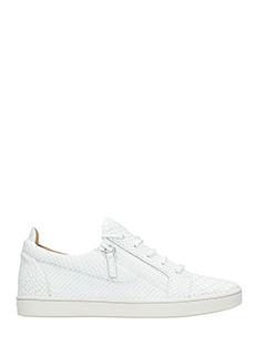 Giuseppe Zanotti-Sneakers  Kriss in pelle bianca
