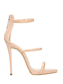 Giuseppe Zanotti-Coline 110 pink patent leather sandals