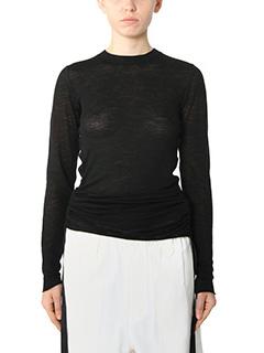 Helmut Lang-black wool knitwear