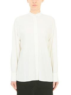 Helmut Lang-white viscose shirt