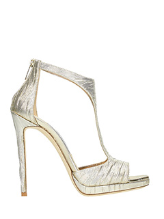 Jimmy Choo-Lana 120 gold leather sandals