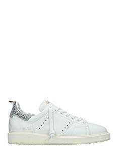 Golden Goose Deluxe Brand-Sneakers Starter in pelle bianca