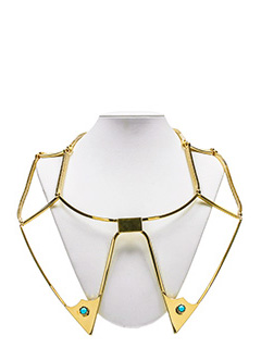 Golden Goose Deluxe Brand-Necklace gold metal alloy jewel