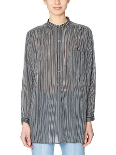 Isabel Marant Etoile-Jana black cotton Blouse