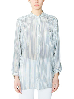 Isabel Marant Etoile-Jana blue cotton Blouse