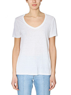Isabel Marant Etoile-Kid white cotton t-shirt
