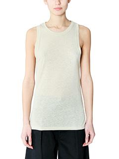 Isabel Marant Etoile-Vegas beige silk topwear