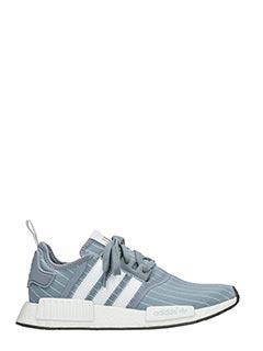 Adidas-Sneakers Nmd R1  Bedwin in tessuto grigio