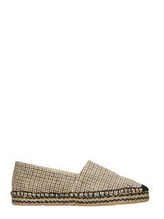 Isabel Marant-Canaee beige canvas espadrilles
