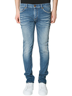 Jil Sander-Jeans Super Skinny in denim blue