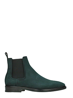 Lanvin-Sneakers Beatles in camoscio verde