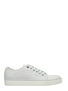 Lanvin-Sneakers in pelle bianca