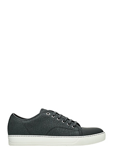 Lanvin-Sneakers in pelle nera