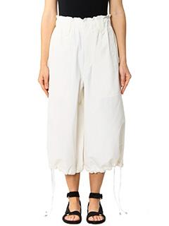 Helmut Lang-beige cotton pants
