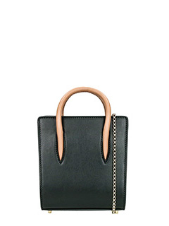 Christian Louboutin-Paloma Nano black leather clutch