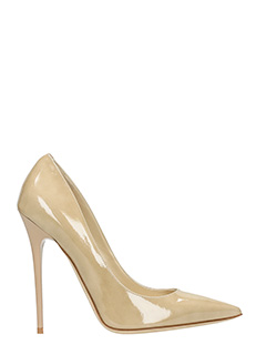 Jimmy Choo-Decollet� Anouk in vernice nude